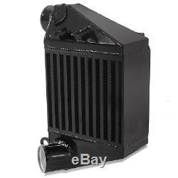 Black Side Mount Intercooler Smic Aluminum For Vw Golf Mk4 1.8t Bora 1.9tdi
