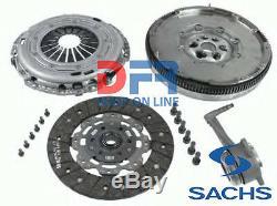 Clutch Kit + Steering Wheel Inertia Sachs Vw Golf 5 V Audi A3 2.0 Tdi 20 140cv