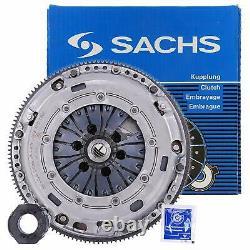 Clutch Kit + Steering Wheel Sachs Audi A3 Sportback (8pa) 1.9 Tdi Kw 77 HP 105