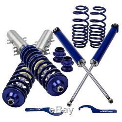 Coilover Suspension Kit For Vw Volkswagen Golf 1.9 Tdi Spring Mk4 Struct