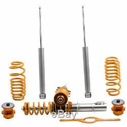 Combined Threaded Suspension Kit For Vw Volkswagen Golf 1.9 Tdi Spring Mk4 Struct