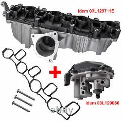 Engine Volet Admission Collector For Seat Leon Exeo 2.0 2.0l Tdi