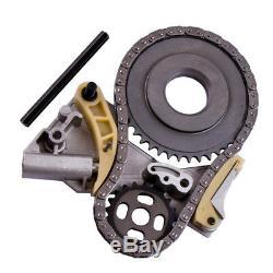 For Audi A4 A6 Vw Golf Passat 2.0 Tdi Oil Pump Tensioner New Chain Kit