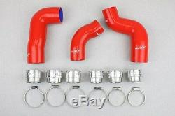 Kit 3 2l Silicone Hoses Tdi 140 Golf 5 Leon 2 Audi A3 Hose Vw Seat 2.0 Red