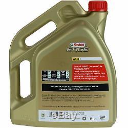Review Filter 10l Castrol 5w30 Oil For Vw Golf IV Variant 1j5 1.9 Tdi