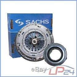 Sachs Steering Wheel Bi-mass + Clutch Kit Vw Golf Plus 5m 6 Aj 5k 1.6 2.0 Tdi