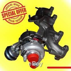 Turbocharger Ibiza Fabia A3 100hp Golf 54,399,700,006 54,399,880,017 038253010a
