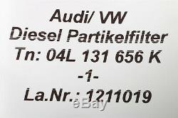 04L131656K Audi A3 8V Golf 7 GTD 2.0 Tdi Particules Pot Catalytique FAP 2.500km