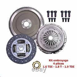 Kit Embrayage + Volant Moteur + Butée VW GOLF 4 IV 1.9 TDI Audi Seat 038105264D