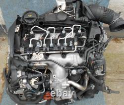 Moteur Audi 2.0 TDI CBA CBAA CBAB A3 Golf VI Passat 89Tkm Complet Jjm