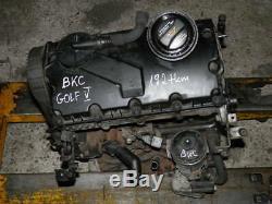 Moteur BKC 1.9 TDI 105KM VW Golf V Audi A3 Skoda Octavia Seat Leon