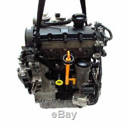 Moteur Bjb Bkc 1,9TDI Skoda Octavia II 1Z VW Caddy Golf 5 Audi A3 8P avec Turbo