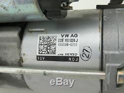 Original Démarreur 2,0 Tdi DSG VW Golf 7 VII (5G) au Sportsvan Tiguan 5NA Passat