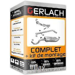 Pour Audi A3 Seat Leon Vw Beetle Golf IV 1.9 TDi echappement silencieux 3998
