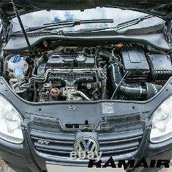 RAMAIR Air Filtre Chaleur Bouclier Admission Kit Golf MK5/MK6 1.9 & 2.0 Tdi