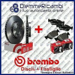 Set Disques + Plaquettes de Frein Avant BREMBO VW Golf VI 1.6 Tdi 08- 12 288mm