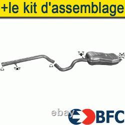 VW BEETLE GOLF IV 1.9 TDI 1997- Ligne D'échappement Silencieux